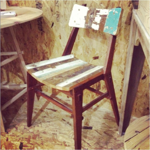 Kirkwood chair by Henzel+Hunt at Grand Designs Live - Kevin's Green Heroes