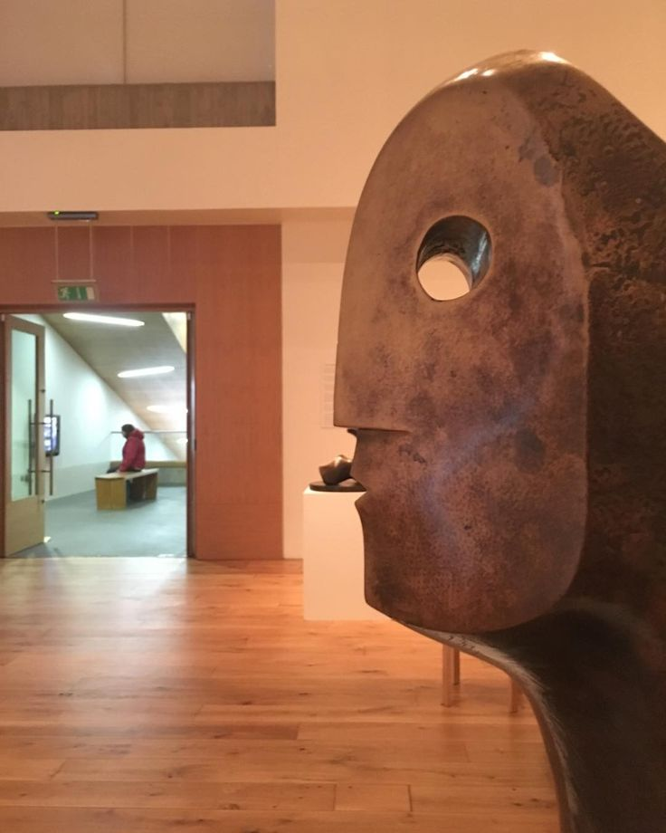 From the Henry Moore exhibition @thelightboxwoking #sculpture