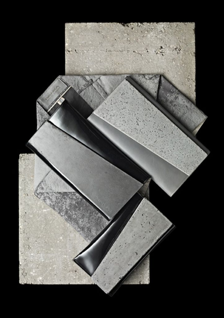 IVANKA has developed a new textile-innovation based on the aesthetic qualities of concrete: using 3D graphical prints with cement components applied on textile.