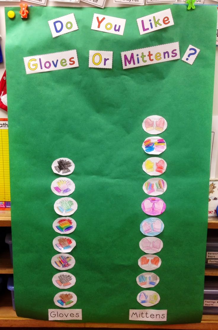 A Spoonful of Learning: The Mitten & MLK FREEBIES!-graph- do you like mittens or gloves?