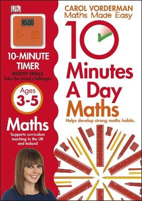jacket image for 10 Minutes a Day Maths Ages 3-5 by -  Carol Vorderman