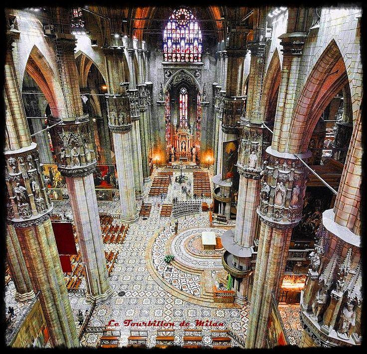 Interno del Duomo foto  Italy Augmented
