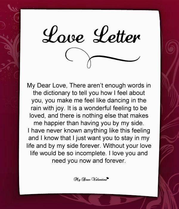 Love Letter For Her #37 | Love Letters for Her | Love letter to