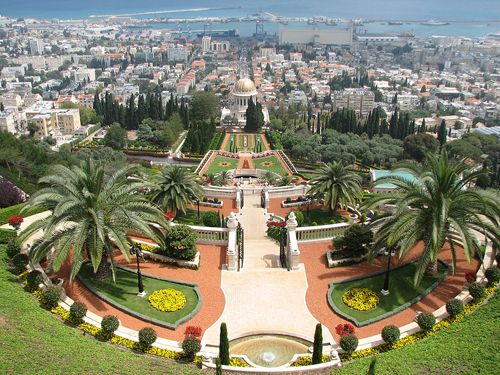 The Bahai Gardens of Haifa, Israel