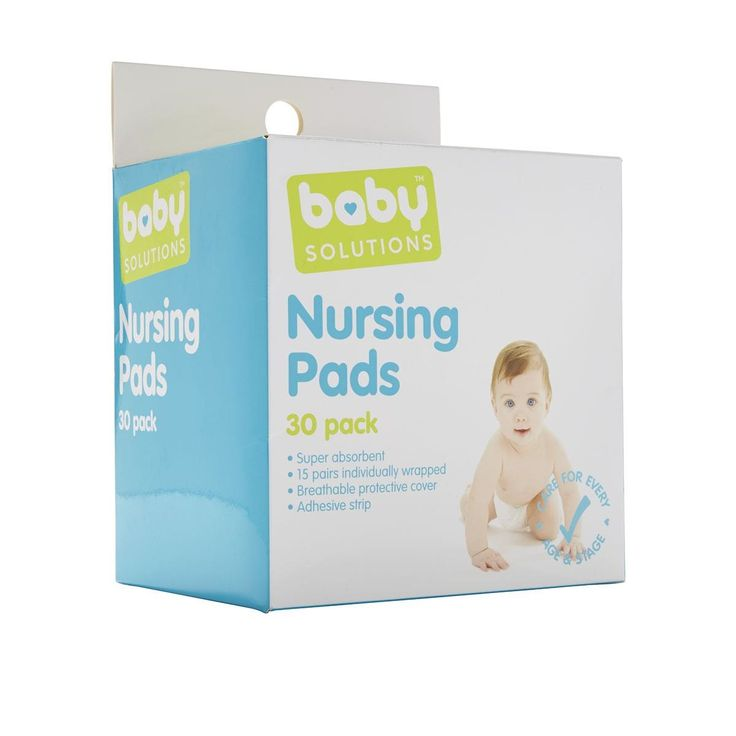 bs Nursing Pads 30pk baby Solutions