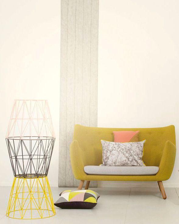 InteriorDesign. Chartreuse #yellow #homedecor #homeinspiration