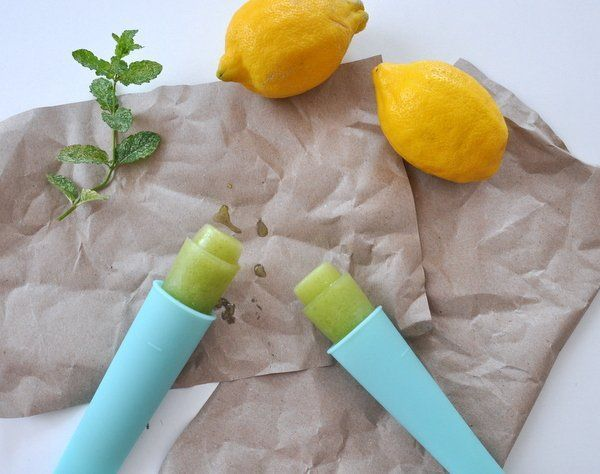 Mentás, limonádés uborka fagyi recept - Masni