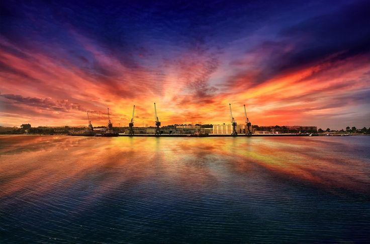 Maritime port of Viana do Castelo