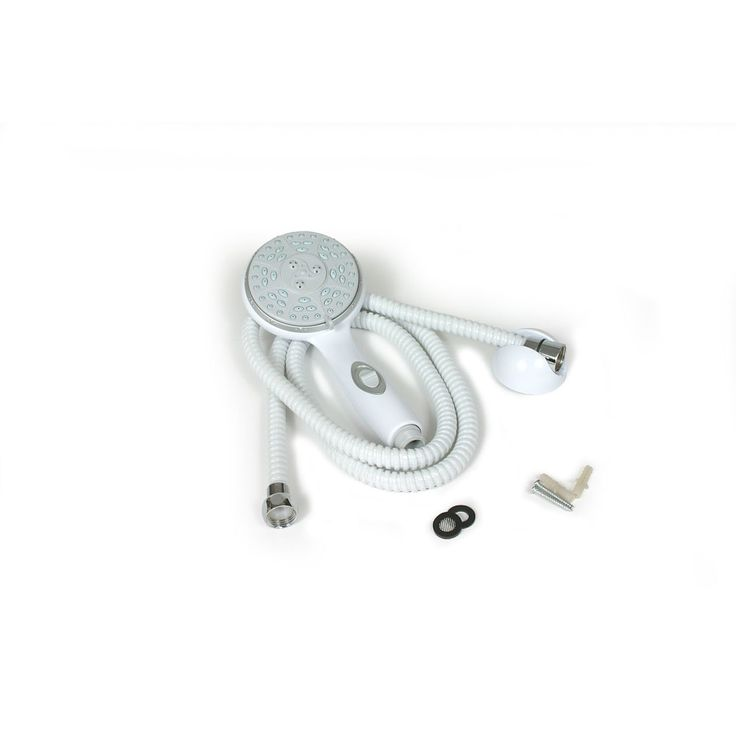Camco 43714 RV/Marine Showerhead Kit, White