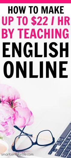 Teaching English onlinecould be a rewarding career especially if you are looking for jobs with a flexible schedule and that pays well. You can work from home or anywhere! Find out how you can become an online English teacher and make up to $22 per hour.