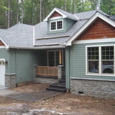 1000 images about house exterior ideas on pinterest for Stone facade siding
