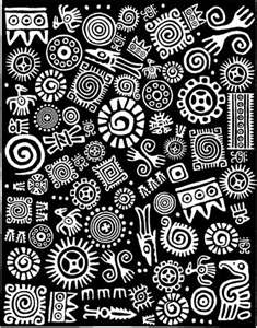 reminds me of keith haring's style