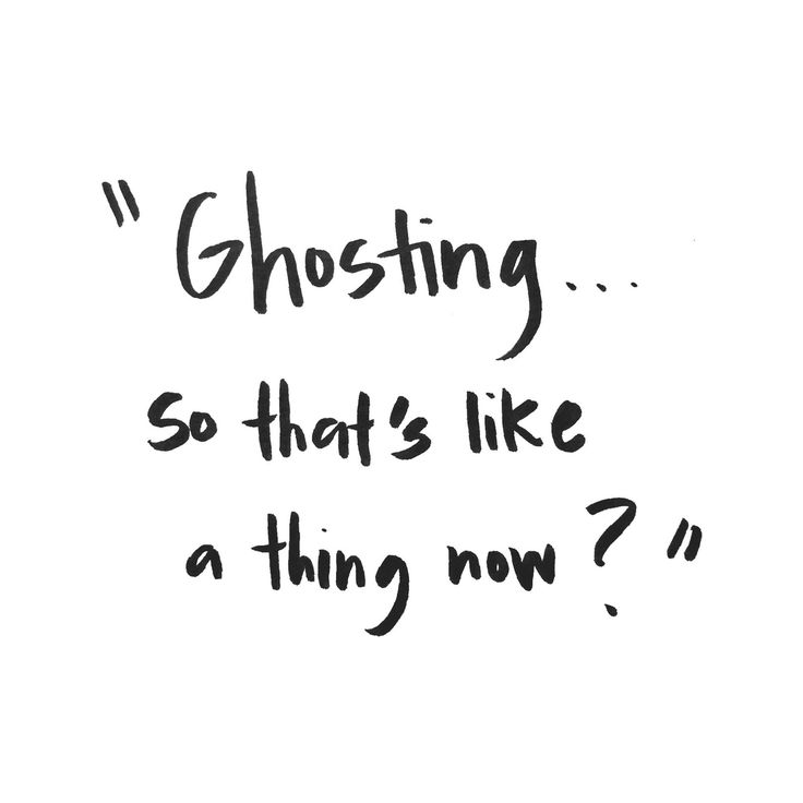 #Ghosting - The Single Life Unscripted