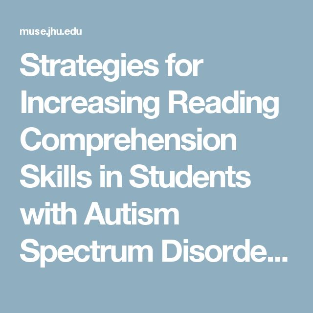 Autism and critical thinking – as simple as reading a map