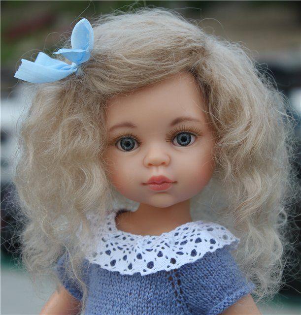 О Снегурочке, Лиу и неожиданном подарке. / Paola Reina, Antonio Juan и другие испанские куклы / Бэйбики. Куклы фото. Одежда для кукол