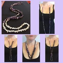 Versatile necklace SPIRIT. Made from the healing crystals/gemstones of Amethyst and Clear Quartz this necklace is designed for those who have meditation in mind or wanting to enhance psychic abilities. Only $24.95 get it here http://www.divineaura.com.au/product/amethyst-and-clear-quartz-versatile-necklace-spirit/ or join our famiily on Facebook @ www.facebook.com/divineaura123