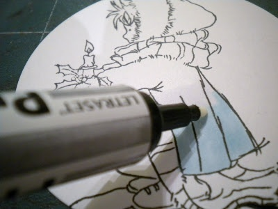 Going Buggy: Tutorial using blender pens with Promarkers