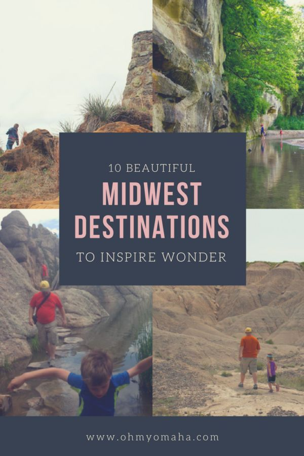 Beautiful Midwest destinations for families, including South Dakota, Nebraska, Iowa, Missouri, and Kansas | Family Travel Ideas