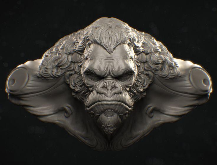 ArtStation - King Kong, D'sculpt Studio
