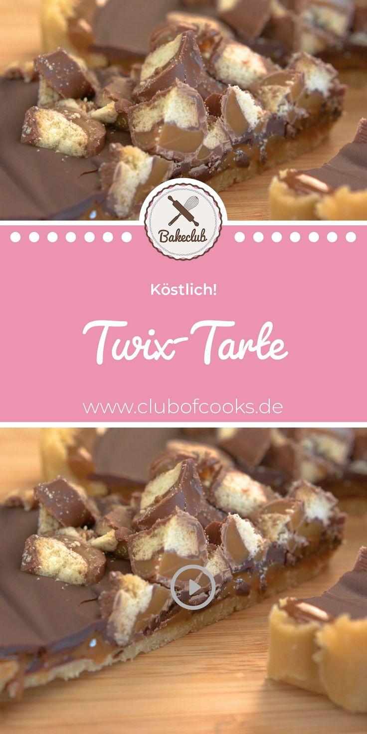 Twix-Tarte | BakeClub