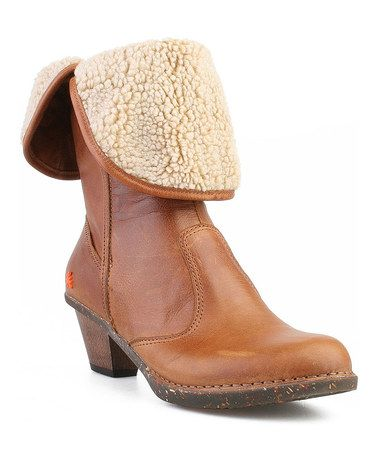 Take a look at this Gaucho Caramel Shanghai Boot by ART on #zulily today!