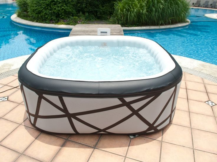 Awesome Comfortable 2 Person Inflatable Hot Tub : 2 Person Inflatable Hot Tub With  Good Quality
