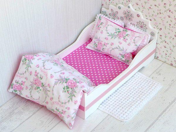 Prinzessinnen Bett Mit Bettwäsche Kissen Teppich In 2020