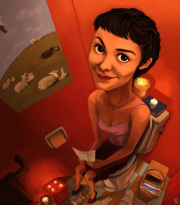 Amelie Best Movie Ever, la amo!