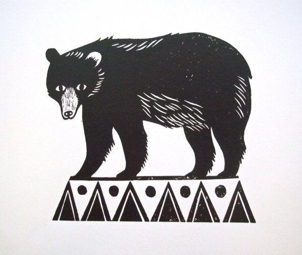 Circus Bear by emily sutton