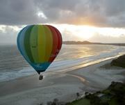 Ballooning in Byron Bay