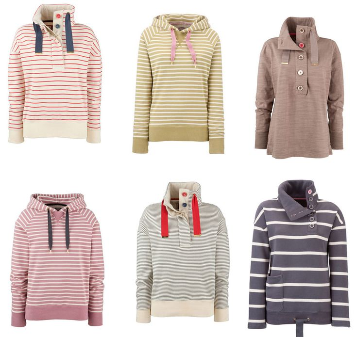 #1, I love stripes and #2, I love sweatshirts!  These look so comfy and cute.  They would go great with jeans and my Converse.