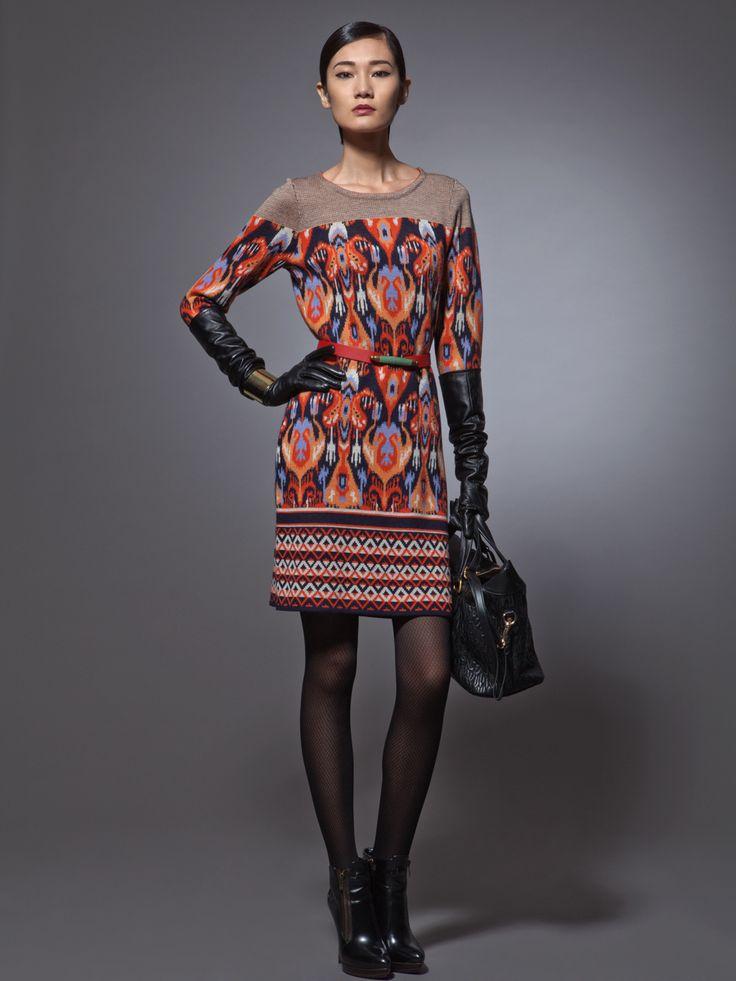 ikat dress