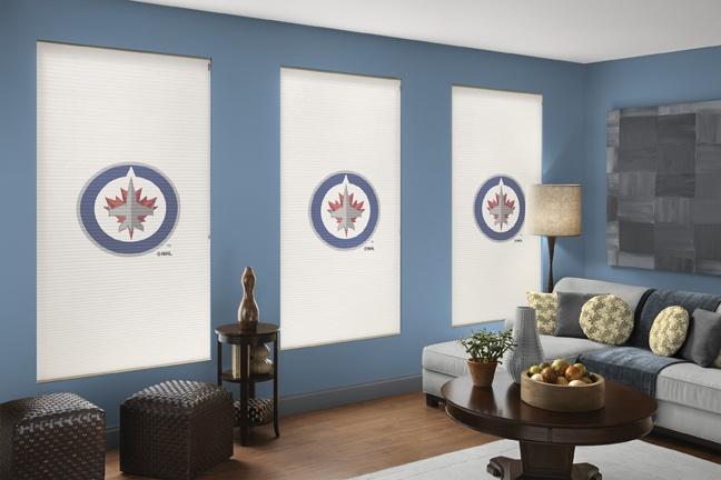 Winnipeg Jets NHL® Roller Shade. Every NHL® Team Available!