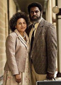 Strait life ... Jimi Bani and Deborah Mailman as Eddie and Bonita Mabo.