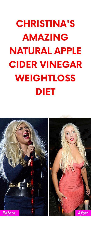 Christina's Amazing Natural Apple Cider Vinegar Weightloss Diet