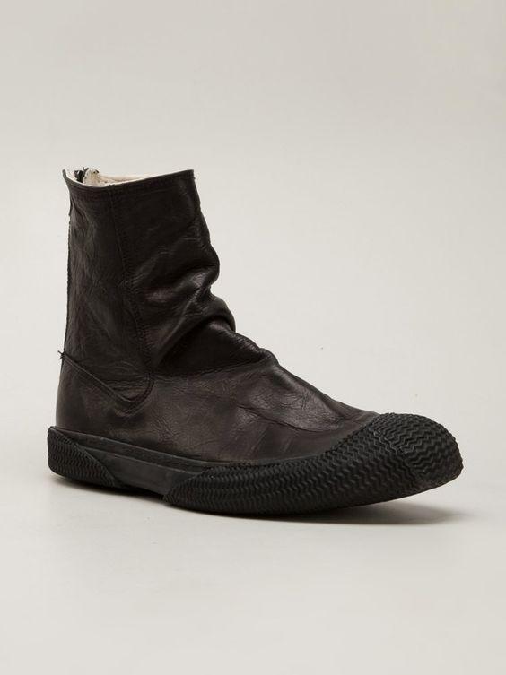 VIRIDI-ANNE - Steer Leather Back-Zip Boot - VI-2303-09