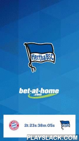 Hertha BSC  Android App - playslack.com ,  Die offizielle App von Hertha BSC - hier findest du alle Informationen rund um deinen Verein. Gebündelt, schnell und direkt! Lade sie dir kostenlos herunter und bleibe immer am Ball.Die Funktionen im Überblick: - Die neuesten Fanartikelangebote aus dem Herthashop und Ticketangebote auf dem Startbildschirm. - Alle aktuellen und offiziellen Nachrichten über Hertha BSC in einer Applikation. - Alle Spiele sowie Statistiken und die Tabelle der Bundesliga…