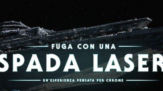 Con Google trasformi lo smartphone in una vera spada laser Jedi