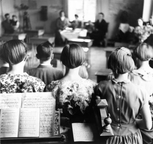 Holmöns skola, 1956 by Sune Jonsson