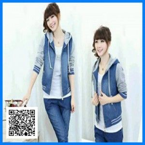 jaket chery jeans combi babyterry2