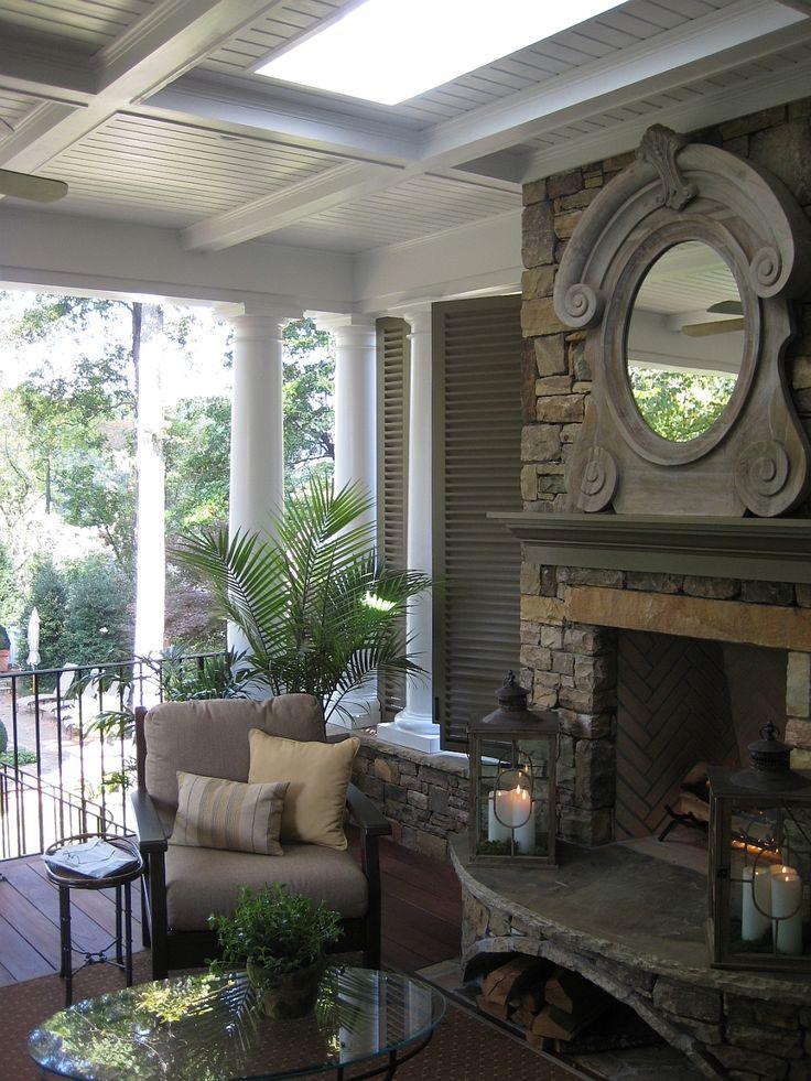 Outdoor Fireplace precast outdoor fireplace : 36 best Outdoor Fireplaces images on Pinterest
