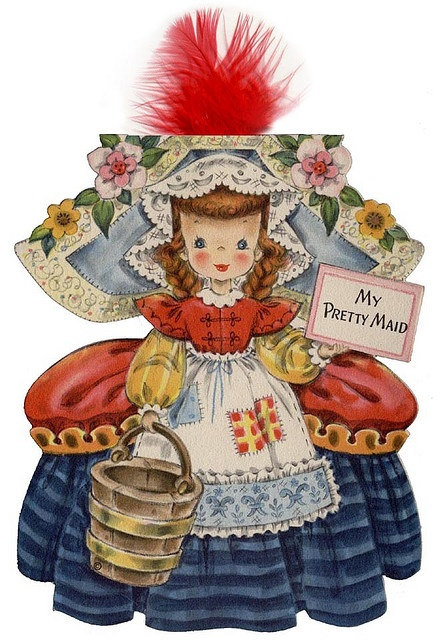 17 best images about vintage hallmark paper doll cards on for Hallmark fairy door