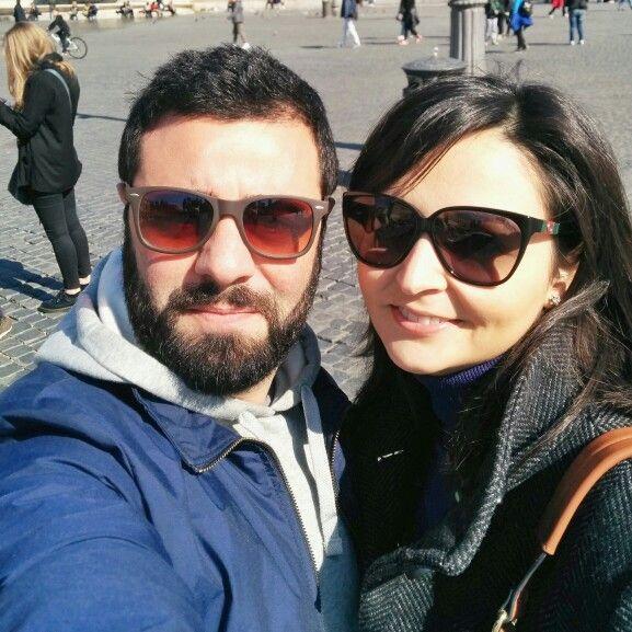Rome e selfie #amore