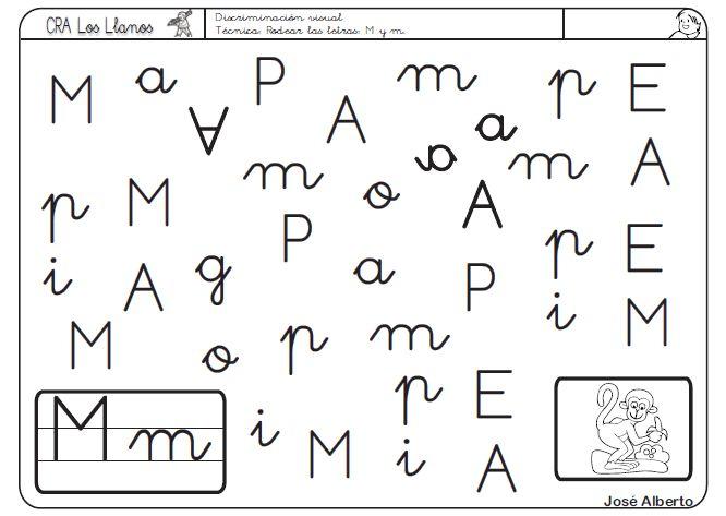 actividades letra m - Buscar con Google | fichas | Pinterest