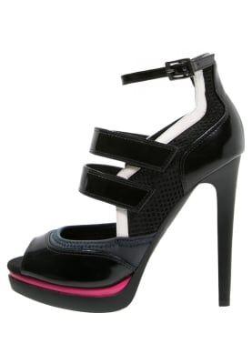 Sandalen met hoge hak - multicolor/black
