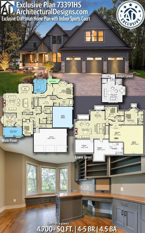 Architectural Designs Exclusive Home Plan 73391HS gives