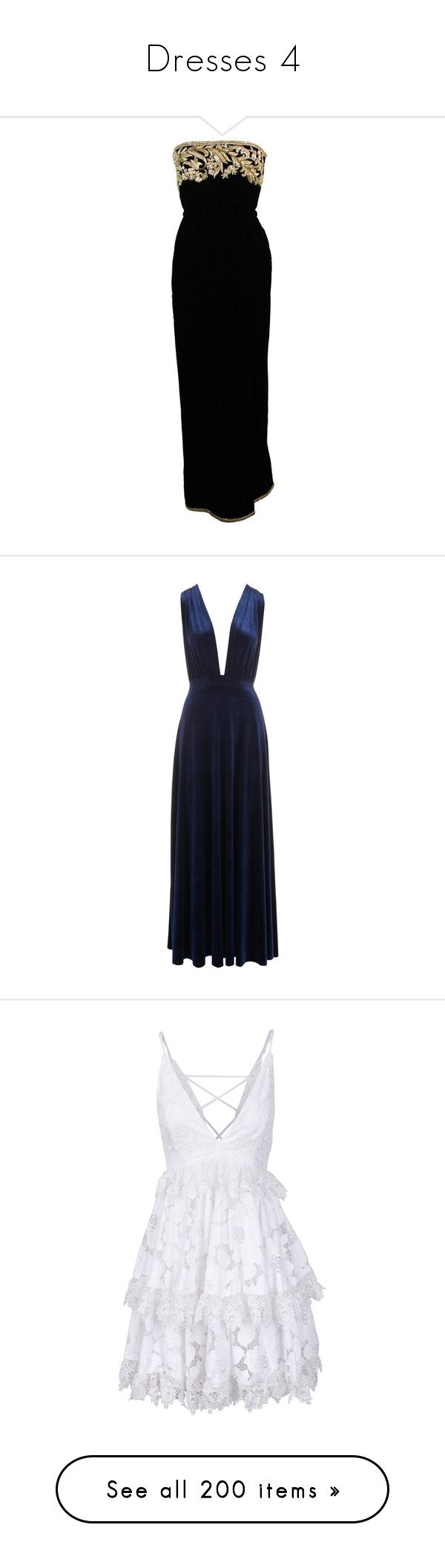 """""""Dresses 4"""" by stylinson22 ❤ liked on Polyvore featuring dresses, gowns, metallic evening gowns, metallic evening dress, embelished dress, embellished evening gowns, velvet evening gown, long dress, long wrap dress and blue velvet dress"""