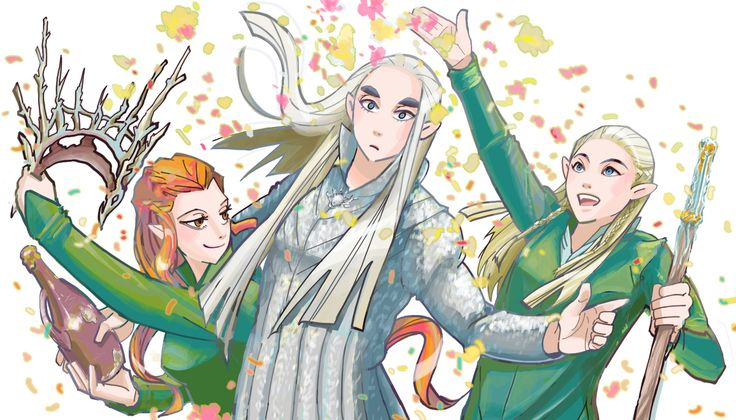 Mirkwood party! XD