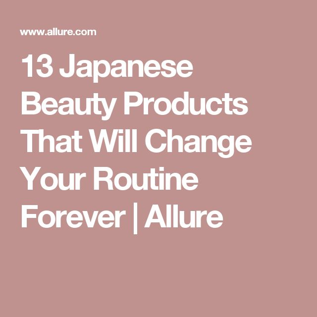 13 Japanese Beauty Products That Will Change Your Routine Forever | Allure
