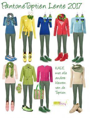 De kleur Kale combineert met alle andere kleuren van de Pantone Colors Lente-Zomer 2017. Lees het blog... #kale #pantonecolors2017